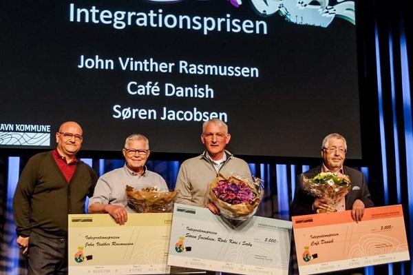 Søren Jacobsen - Integrationsprisen rettet